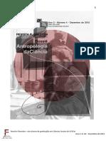Revista Florestan - Antropologia Da Ciencia