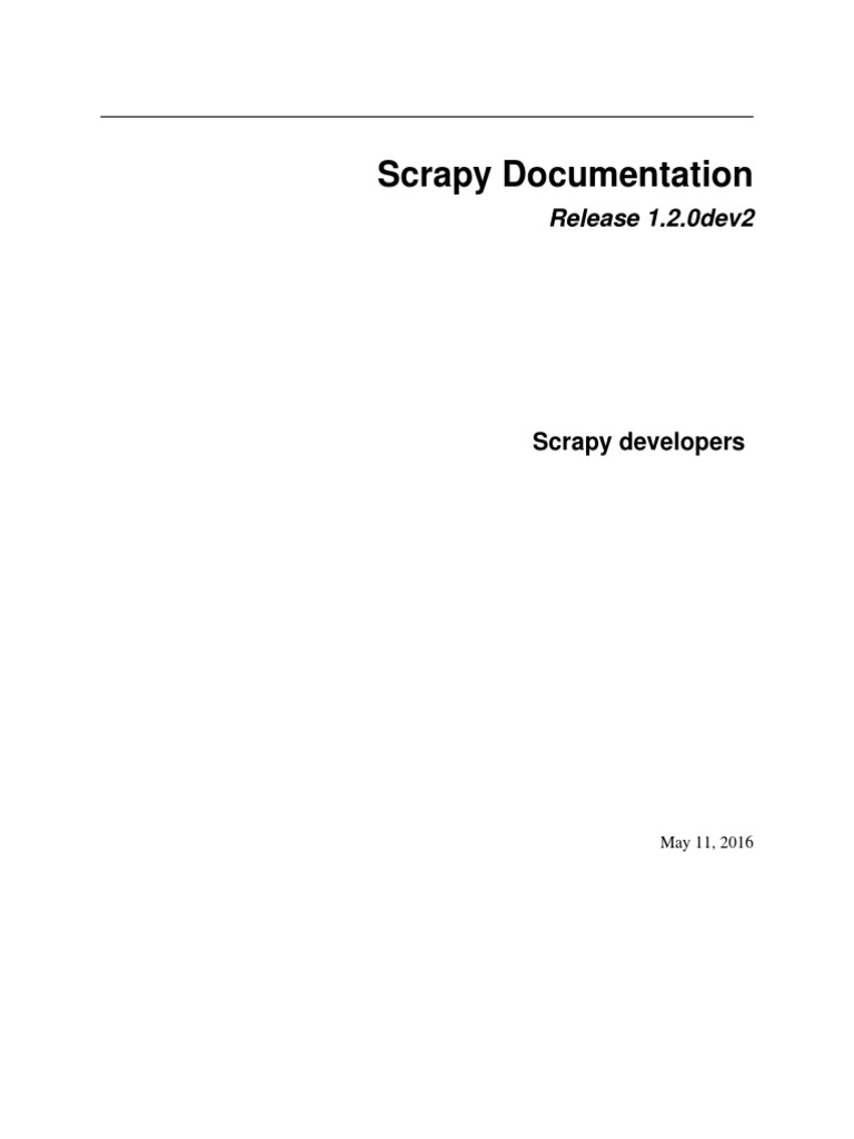 Scrapy Doc | X Path | Command Line Interface