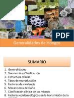 Generalidades de Los Hongos