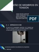 UNIDAD II_ Diseño de Elementos a Tension