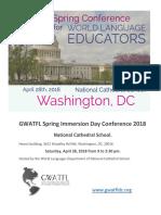 gwatfl program spring conference  2018 v