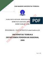 Naskah Latihan Mandiri Universitas Terbu