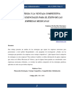 La Estrategia y La Ventaja Competitiva