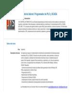 Perfil_Programador de PLC y SCADA