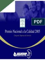 AELUCOOP-Premio Nacional a La Calidad