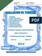 Informe de Topo II-Desnivel