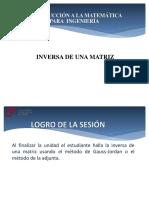 Cg Sem5 Matriz Inversa