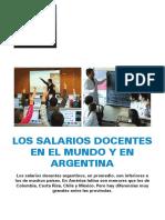 Informe Universidad de Belgrano salario docentes