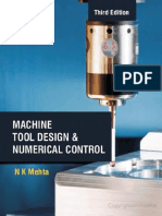 Machine tool design N K MEHTA 3rd Edition
