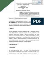 CAS 389-2016-Ica~Se configura la precariedad cuando se cursa carta notarial dando por fenecido compormiso  de obligacion de cumplir (servicio de guardianía)