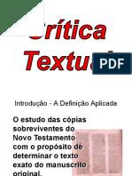 Slides Critica Textual