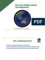 4. Silabus Arcview Dalam Presentasi
