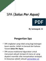 SPA (Solus Per Aqua)