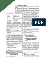 Directiva 001 2007 PCM DNTDT Controversias