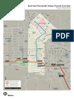 The East San Fernando Valley Transit Corridor