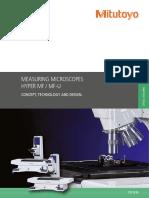 Mitutoyo - Mikroskopy Pomiarowe Hyper MF i MF-U Serii - PRE1438 - 2015 EN