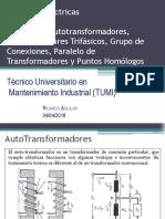 Unidad 1.5 Autotransformadores y Transformadores Trifásicos