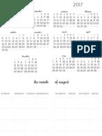 2016-2017 Planner