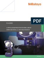 Mitutoyo - Projektor Pomiarowy PJ-A3000 - PRE1162(2) - 2011 EN