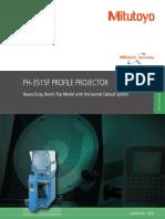 Mitutoyo - Projektor Pomiarowy PH3515F - 2210 - 2015 EN