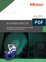 Mitutoyo - Projektor Pomiarowy PH-A14 - 2198(2) - 2015 EN