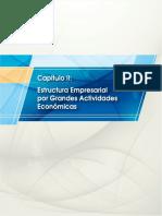 Estructura empresarial por actividades económicas