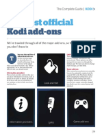 The Best Official Kodi Add-Ons