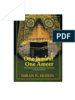 One Jama'Ah - One Ameer_The Organization of a Muslim Community in the Age of Fitan