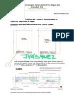 Pasos Para Crear Plantillas de Formatos en Papel Normalizados en AutoCAD2