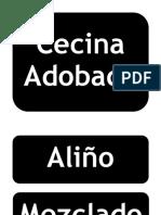 Flujogramas Cecina Adobada