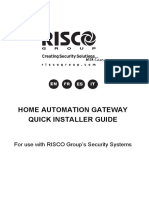 5IN2538 B Home Automation Gateway Quick Installer Guide PDF