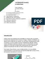 Tema6-Equilibrio en Fase Acuosa-Reacciones Acido-base