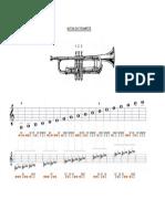 Notas Trompete