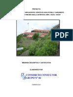 Memoria Descriptiva-estudio de Preinversion a Nivel Perfil