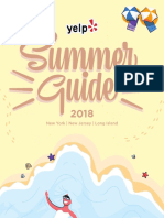 Yelp NYC's Summer Guide 2018