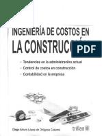 Ingeniería de Costos en La Construcción-Diego Arturo López de Ortigosa