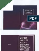 Eadweard Muybridge, Zoopraxographer DVD Booklet