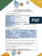 Guía de Actividades y Rubrica de Evaluación - Paso 3 - Elaborar Propuesta de Acción