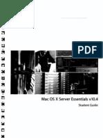 MAC OS X Server Essentials