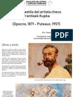 Obra y estilo del artista checo Frantisek Kupka