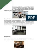 Tipos de Oficina