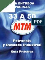 3ra Entrega Paginas de 33 a 50 Patronaje y Escalado Industrial