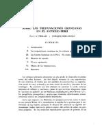 Trepanaciones Craneanas - Perú