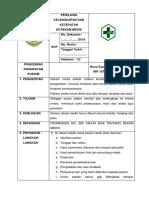 8.4.4.2a .Sop Penilaian Kelengkapan Dan Ketepatan Isi Rekam Medis