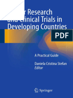 Cancer Research and Clinical Trials in Developing Countries - Springer - 2016
