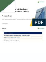 Como Fazer Negocios Petrobras - Petronect