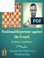 Positional Repertoire Against the French - IM Reinier Castellanos - LaTeX