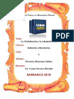 Monografia La Globalización y La Administración