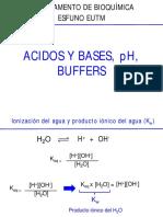 Ac-Base, Buffers