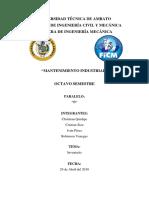 Consulta Clasificacion de Mantenimiento